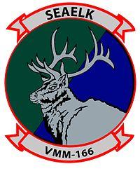 VMM-166 Sea Elk Patch