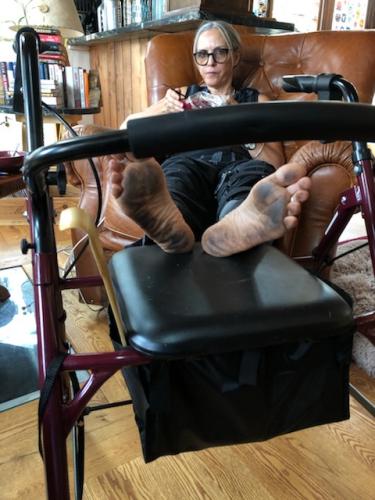 KathyBlack Feet1
